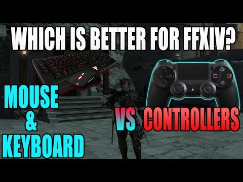 Which Is Better for FFXIV? Mouse & Keyboard vs Controller