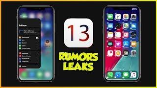 iPhone 2019 e iOS 13 - NUOVI RUMORS & LEAKS