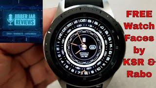 FREEB E ALERT Samsung  Galaxy WatchGear Watch Faces By KSR And Rabo    Jibber Jab Reviews