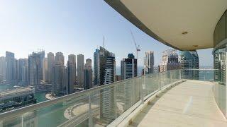 3 bedrooms Trident Oceanic Dubai marina for rent