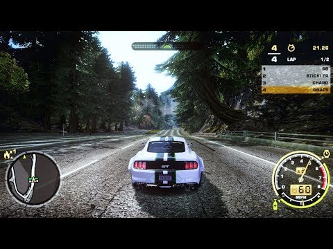 Need For Speed Most Wanted Ultra Graphics Mod 2017 (NFS Payback Car)