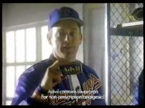 Advil Commercial with Nolan Ryan