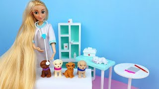 Barbie doll and Puppies stories