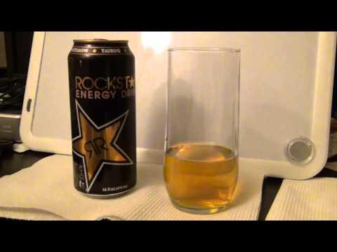 Wild Card Energy Drink Review: Rockstar Energy Drink. Original