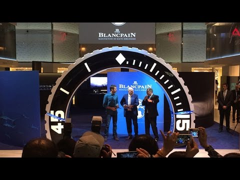 Blancpain Ocean Commitment Exhibition - Baselworld 2015