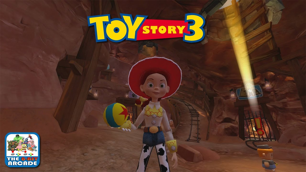 Toy Story 3 Train Games : Toy story the video game box jessie s roundup