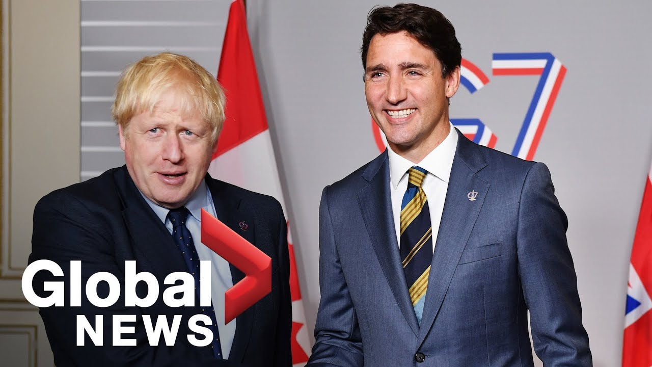 G7 summit: Trade talks dominate discussions