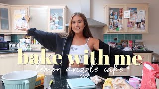 BAKE WITH ME || LEMON DRIZZLE CAKE