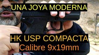 HK USP Compacta - Calibre 9x19mm