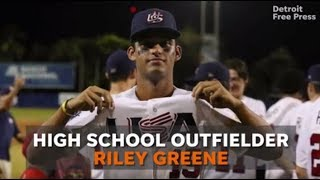 Riley Greene: Detroit Tigers' No. 5 overall pick