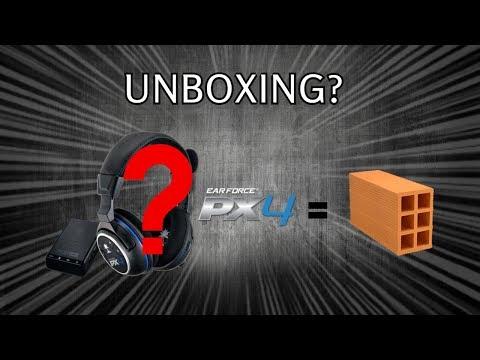 TURTLE BEACH PX4 - Unboxing e Review do meu novo HEADSET GAMER