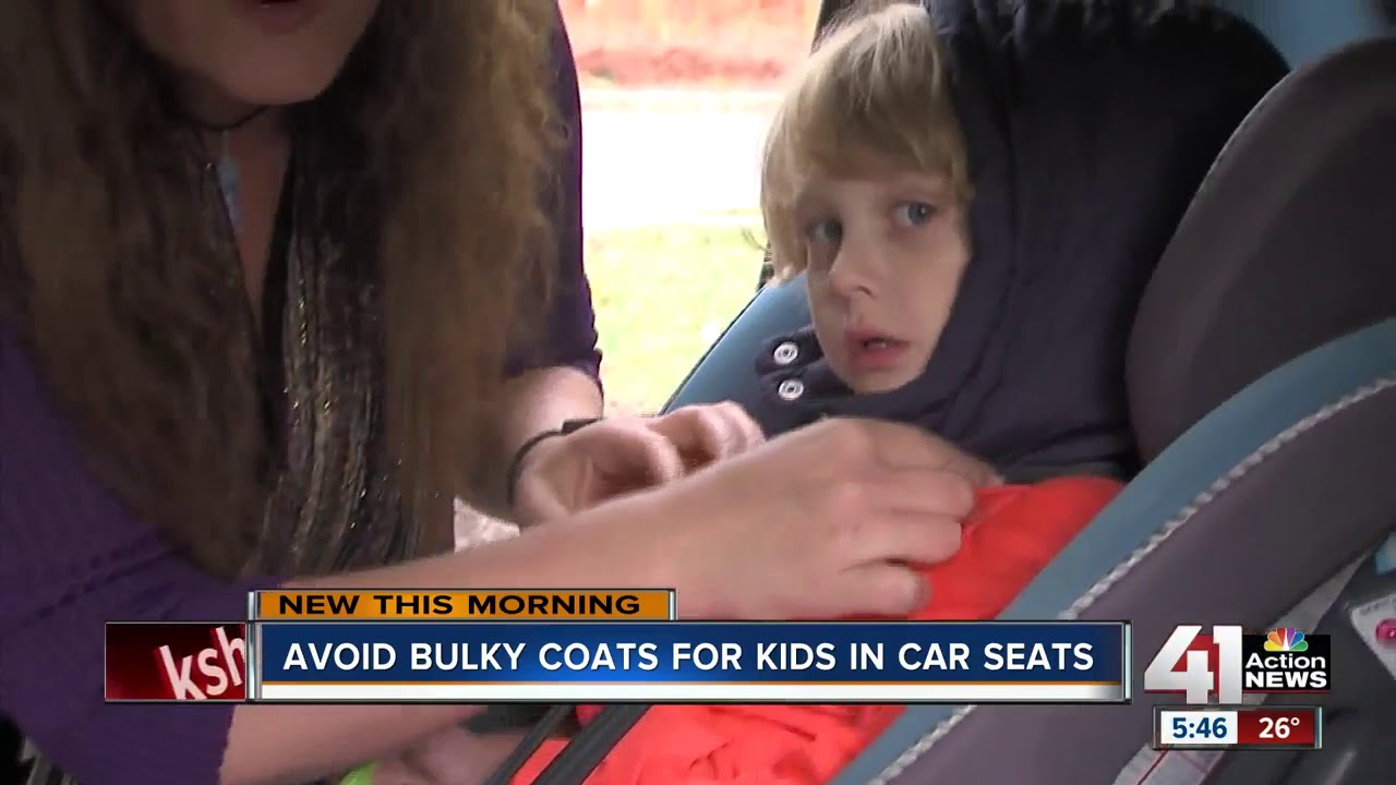 Coats and car seats can be a dangerous combo - YouTube