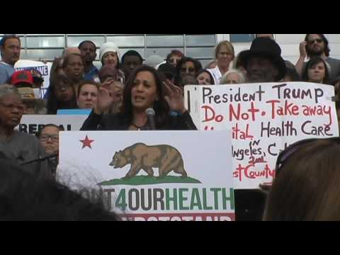 "Kamala Harris Speech - ""Our First Stand"" Rally - Los Angeles 1/15/17"