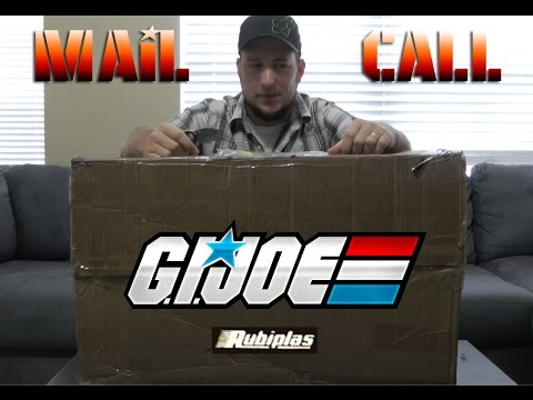 Rare International Gi Joe Mail Haul From Venezuela!