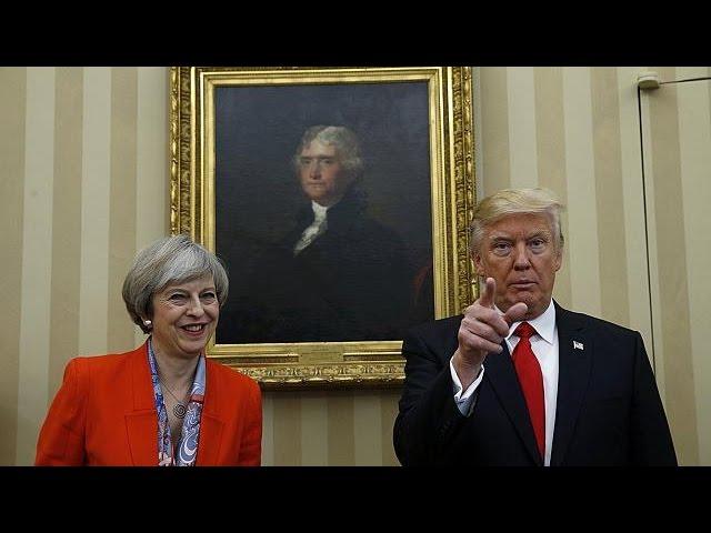 Мэй отказалась отменить приглашение Трампу посетить Великобританию