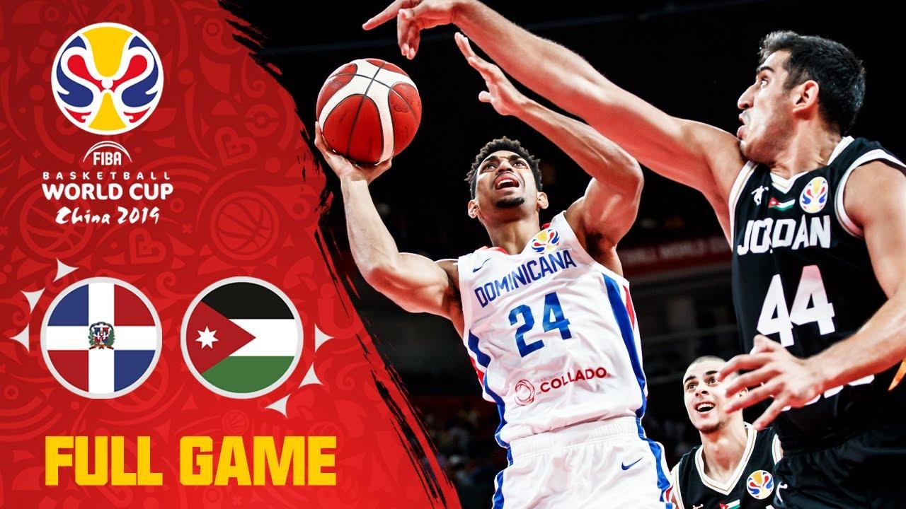 Dominican Republic & Jordan trade blows in a classic! - Full Game