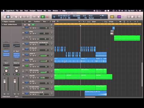 Trap song made with Logic Pro X (WIP)