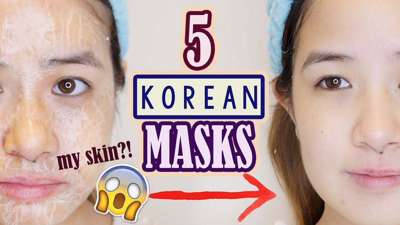 MUST TRY KOREAN Masks that will CHANGE YOUR SKIN