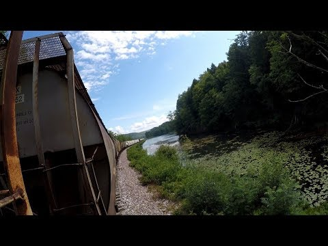 Scenic Freight Hop out of Bellows Falls, VT (2018)