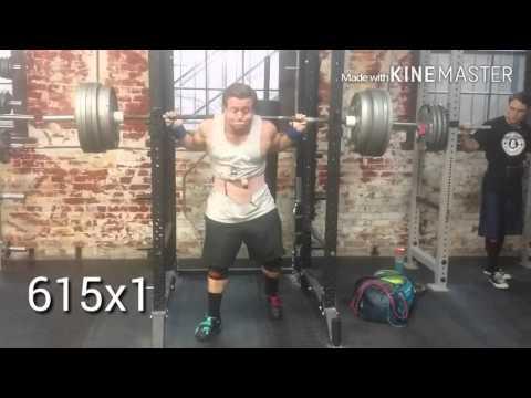 700x3 squat Joe Sullivan