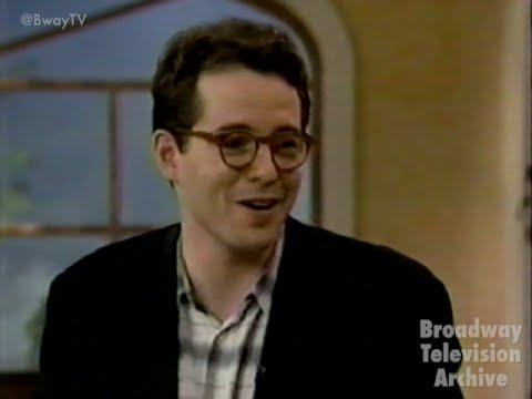Download Matthew Broderick talks How to Succeed with Regis & Kathie Lee (LIVE! 1995)