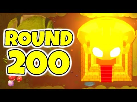 Bloons TD 6 - Beating Round 200 In CHIMPS Mode!