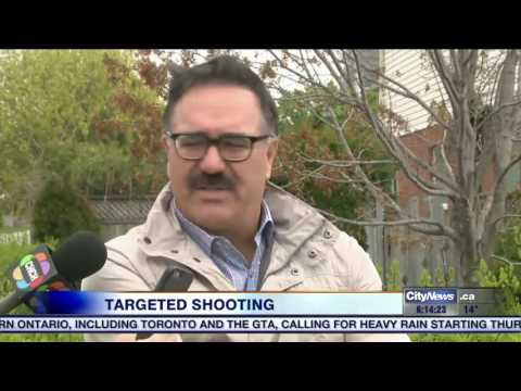 Video: Notorious mobster Angelo Musitano gunned down outside Waterdown home