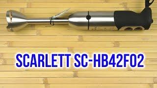 Распаковка SCARLETT SC-HB42F02