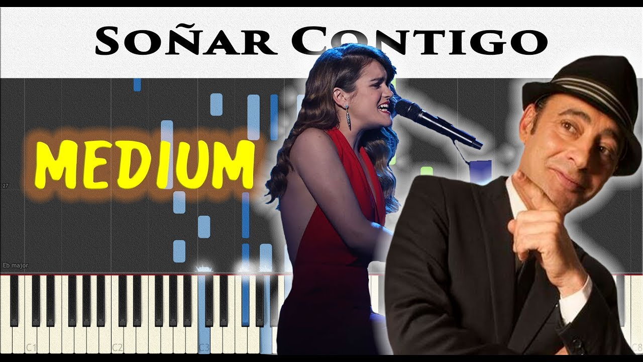 Amaia Soñar Contigo Zenet Sheet Synthesia Piano Tutorial By James Morrison Bcn Youtube