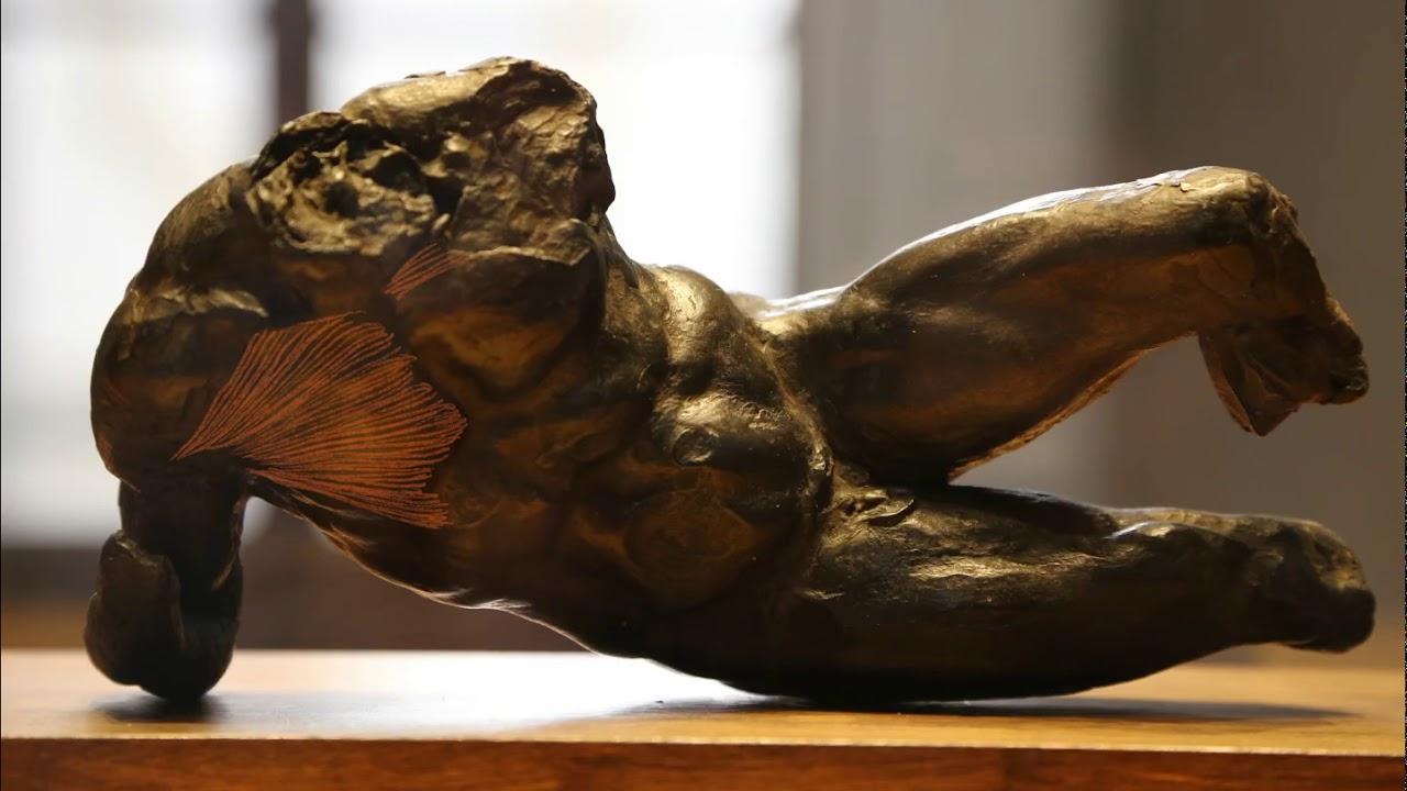 名作から学ぶ美術解剖学2:『河の神』(筋)