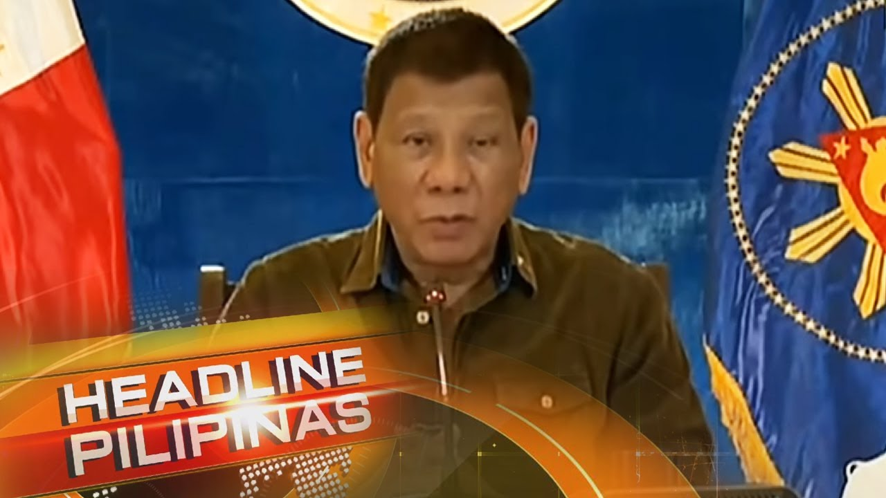 Download Task force binuo ni Duterte para imbestigahan umano'y korapsyon sa DPWH | Headline Pilipinas