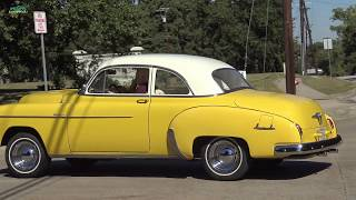 1950 Chevrolet Deluxe test drive classic car inspection Samspace81 Texas classic car...