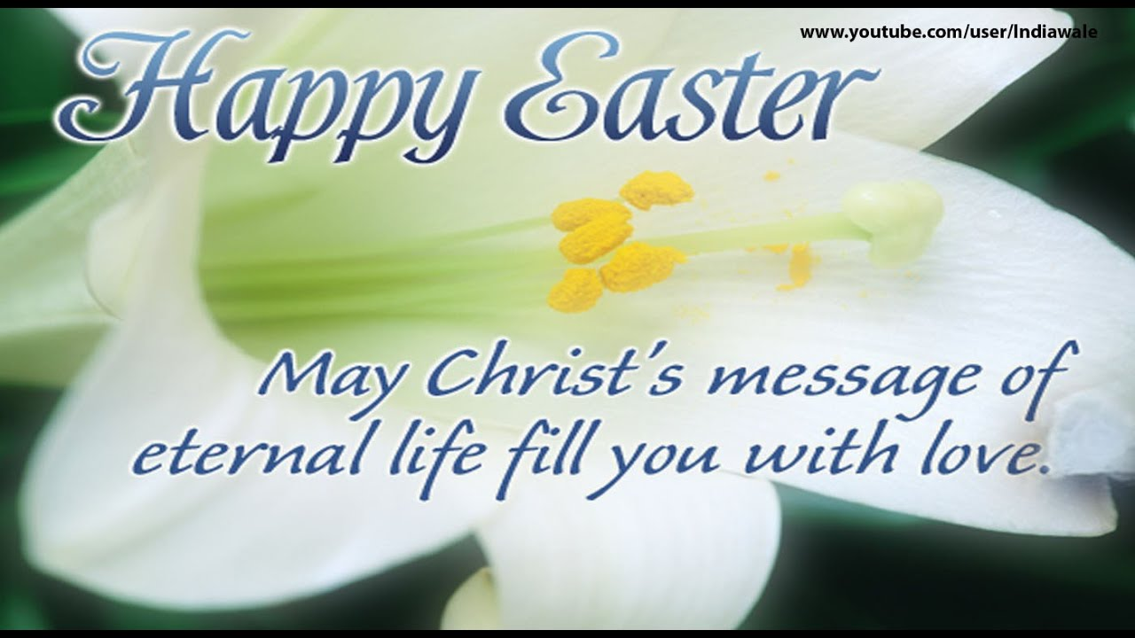 Happy Easter 2016 Best wishes Greetings SMS Whatsapp Messages – Easter Messages for Cards