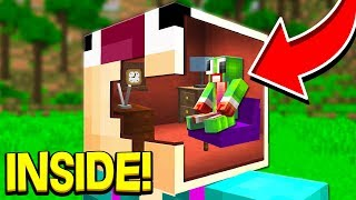 HOW TO LIVE INSIDE OF ASWDFZX IN MINECRAFT