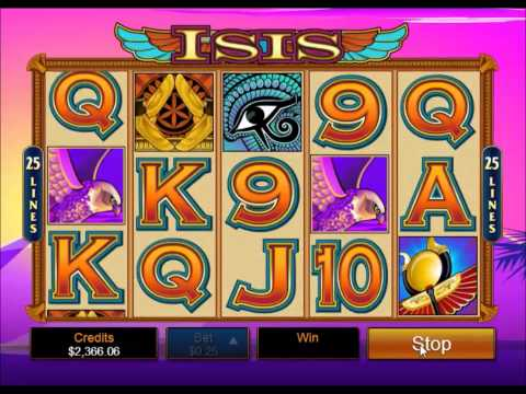 Isis Mobile Casino Slots