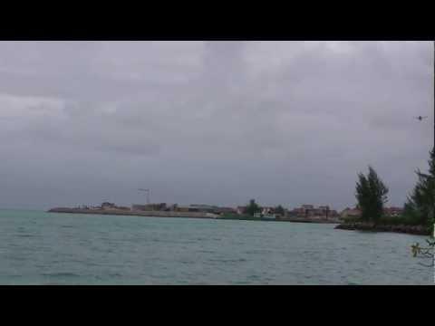 Seychelles - Transport Aircraft landing