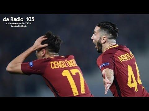 Radio 105 - Roma-Barcellona 3-0 - Radiocronaca di Niccolò Ceccarini & Marco Delvecchio (10/4/2018)