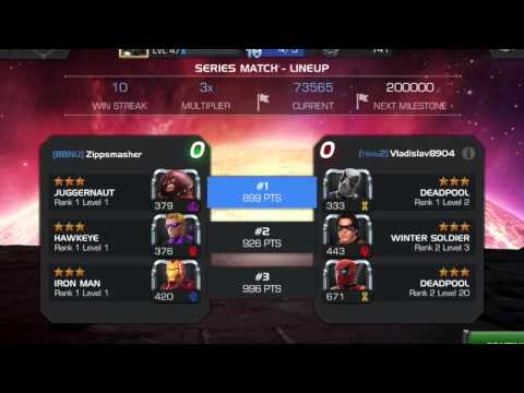 MCOC: How to build an Infinite streak.  A step-by-step guide.