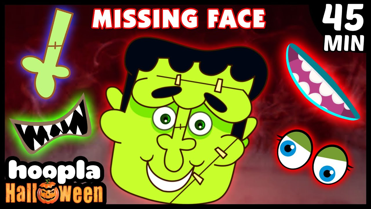 Missing Face Crazy Monster | Funny Halloween Videos For Kids | Hoopla Halloween