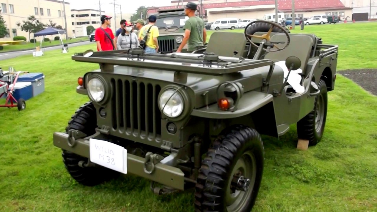 yktb 23 willys jeep m38 usa 完全防水ジープ 1942年式 横田基地 日米