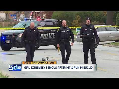 10-year-old girl seriously injured in Euclid hit-skip crash