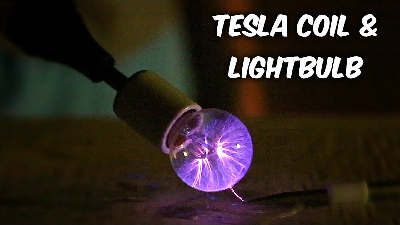 How to Make Plasma Ball Out Of Light Bulb