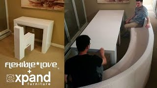 Flexible Love Stretching Chair at Expand Furniture
