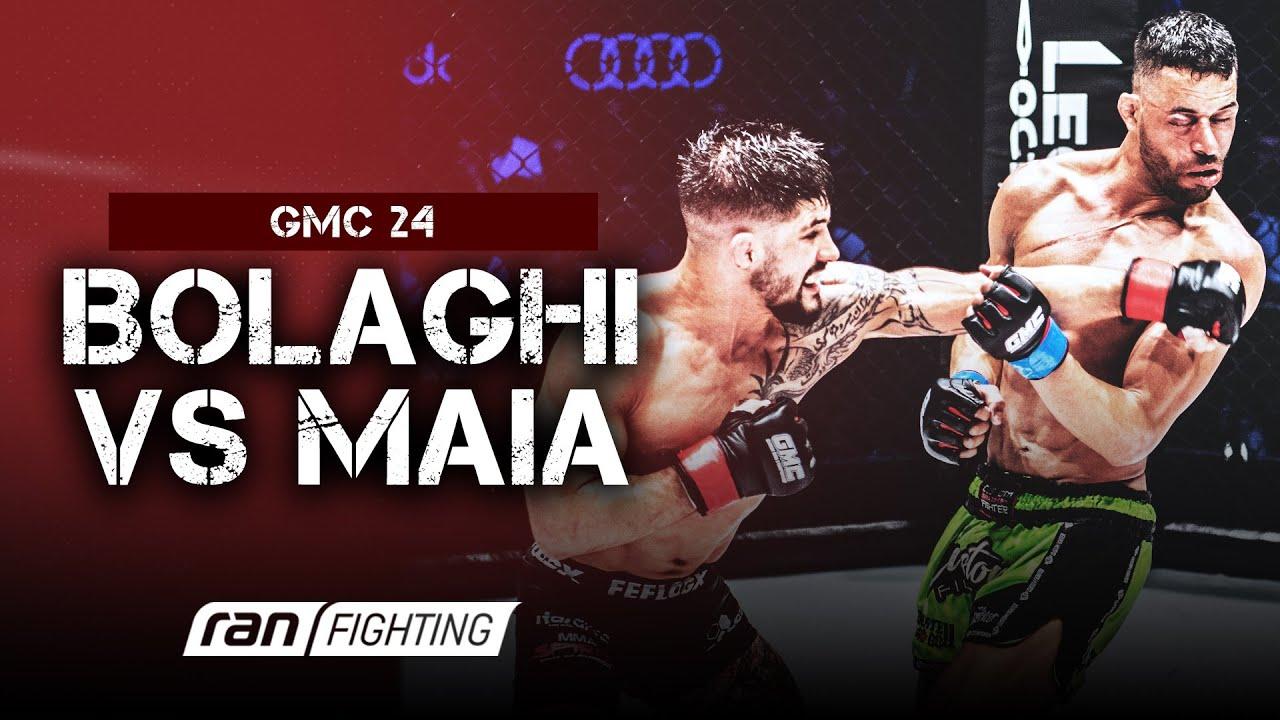 GMC 24: Saba BOLAGHI vs. Felipe Da Silva MAIA - ran FIGHTING