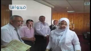 بالفيديو  لأول مرة    تكريم المتفوقين فى مدارس التمريض فى شمال سيناء