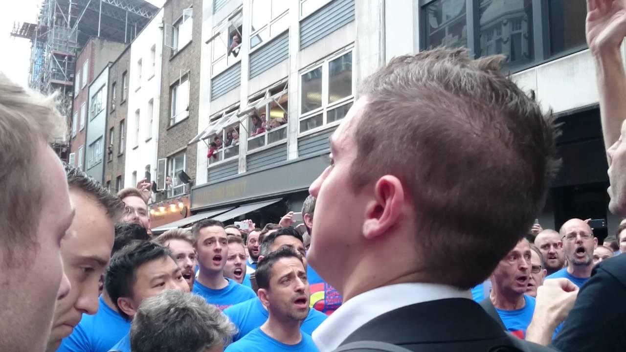 from Franco london gay men/x27s chorus