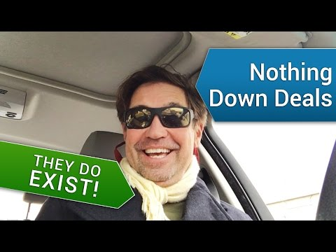 Nothing down real estate investments - They Do Exist!