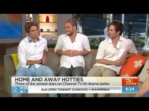 The boys of Home and Away