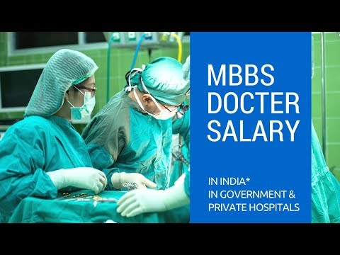 Salary of MBBS docter in india | Government & Private Hospital