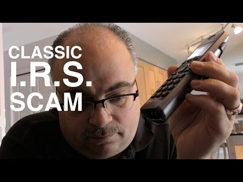 WARNING: IRS Telephone Scam - Hear how it works
